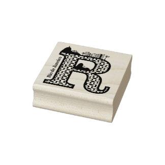 Carimbo De Borracha Tipografia R (Rio de Janeiro: Selo de Brasil)