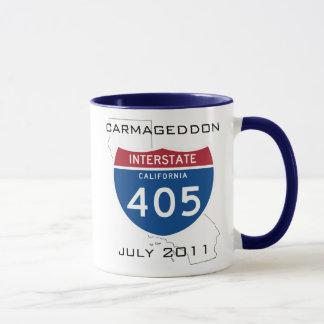 Carmageddon - em julho de 2011 caneca