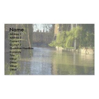 Carn do rio na faculdade de St John, Cambridge, Re Cartão De Visita