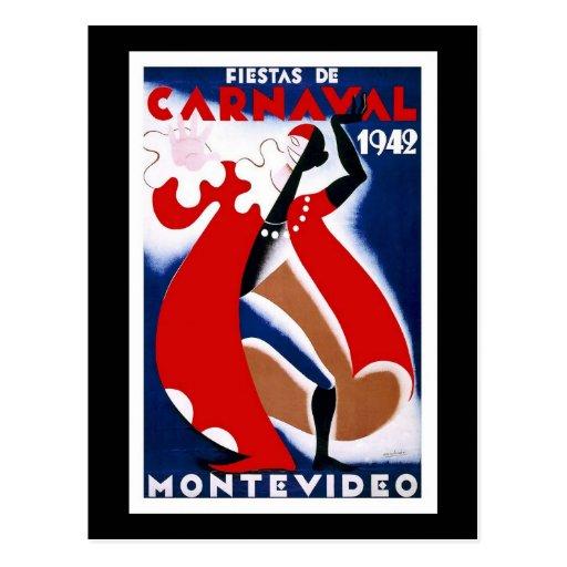 Carnaval 1942 de Habana Carnaval Havana Cartoes Postais