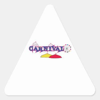 CARNAVAL ADESIVO TRIANGULAR