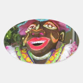 Carnaval! Adesivo Oval
