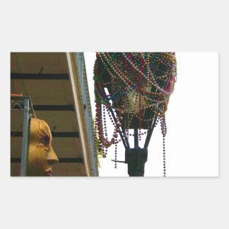 Carnaval Adesivo Retangular