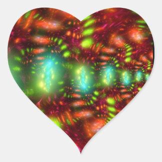 Carnaval Adesivo Em Forma De Coração