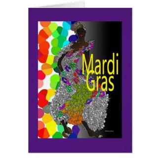 Carnaval! Cartão Comemorativo