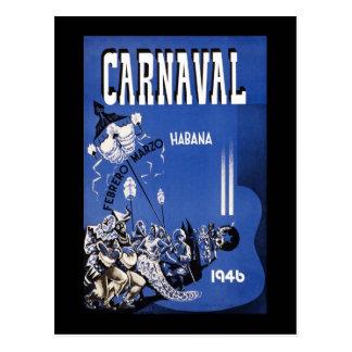 Carnaval de Habana Carnaval Havana Cartoes Postais