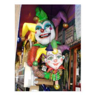 Carnaval de NOLA Cartão Postal