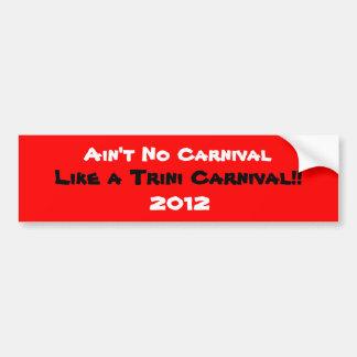 Carnaval de Trini Adesivo Para Carro