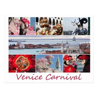 Carnaval de Veneza Cartão Postal