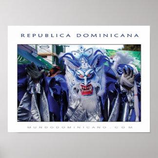 CARNAVAL DOMINICANO PÔSTER