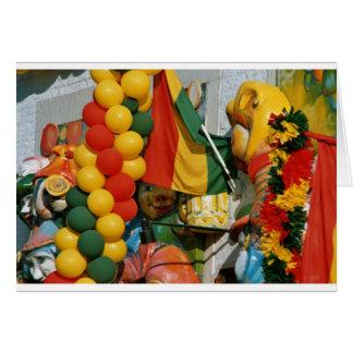 Carnaval em Mestreech 2005 07 Cartão Comemorativo