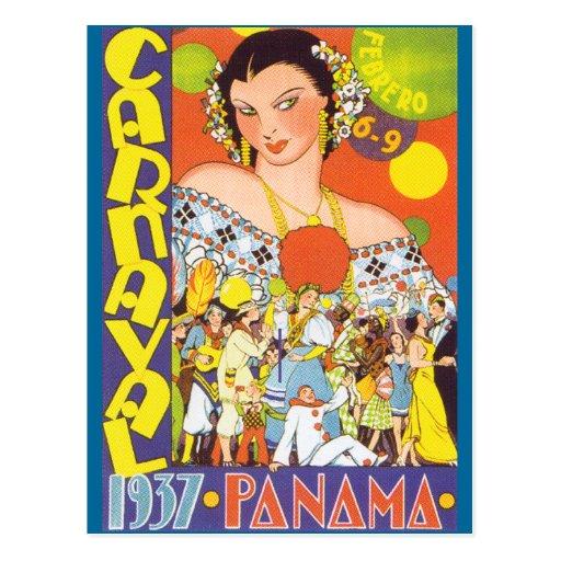 Carnaval em Panamá Cartões Postais