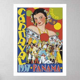 Carnaval em Panamá Pôster