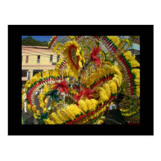 Carnaval em Trinidad Cartão Postal