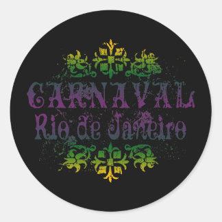 Carnaval Rio de Janeiro Adesivo