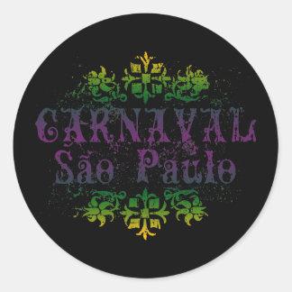 Carnaval Sao Paulo Adesivo