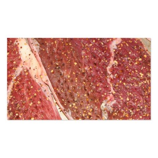 Carne Cartao De Visita