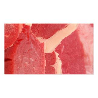 Carne Cartão De Visita