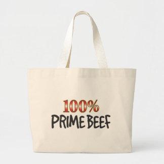 Carne principal 100 por cento bolsas de lona