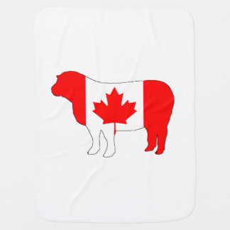 Carneiros Canadá Cobertor De Bebe