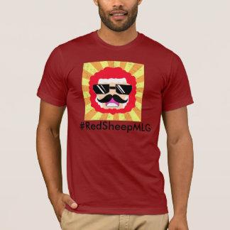 Carneiros vermelhos o Gamer épico & o YouTuber da Camiseta