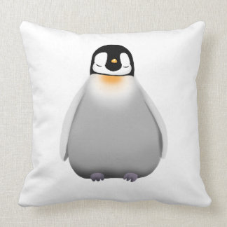 Caro Pinguim Bebê Almofada