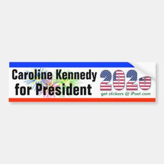 CAROLINE KENNEDY PARA o bumpersticker 2020 do Adesivo De Para-choque