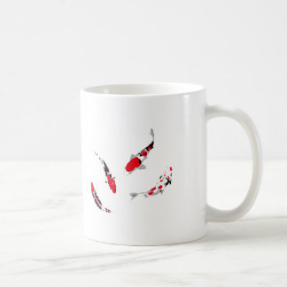 Carpas Varicolored Caneca De Café