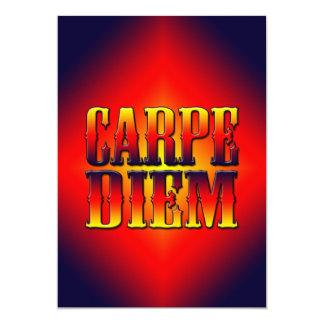 Carpe Diem Convite 12.7 X 17.78cm