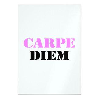 Carpe Diem Convite 8.89 X 12.7cm
