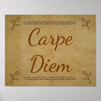 Carpe Diem --Impressão do poster