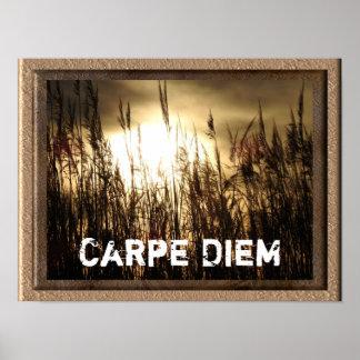 Carpe Diem - impressão do poster da arte