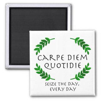 Carpe Diem Quotidie - apreenda o dia, cada dia Imã