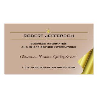 Carpintaria do artesanato da silvicultura da cartão de visita