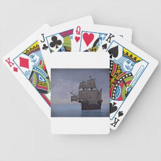 Carrack medieval Becalmed Baralhos De Poker