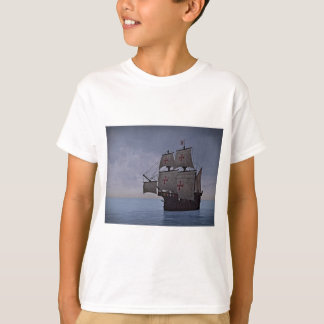 Carrack medieval Becalmed Camiseta