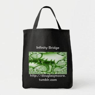 Carregar da ponte da infinidade todo o saco de bolsa para compras