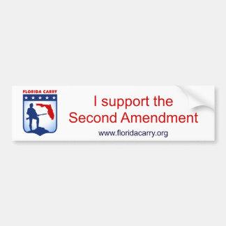 Carregar de Florida - eu apoio a ?a alteração Adesivo Para Carro