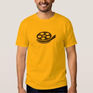 Carretel de filme camisetas