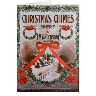 Carrilhões do Natal Cartoes