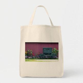 Carrinho-Barnyard de Amish Sacola Tote De Mercado