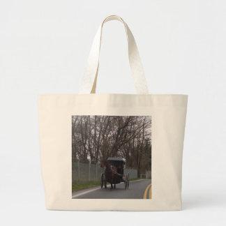 Carrinho de Amish Bolsa Para Compras