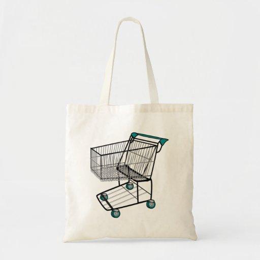 Carrinho de compras bolsa para compra