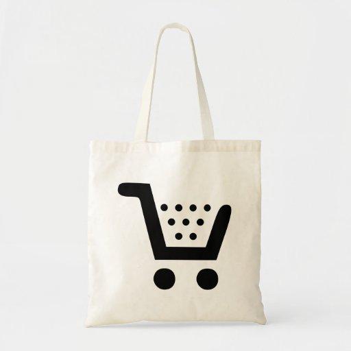 Carrinho de compras bolsas para compras
