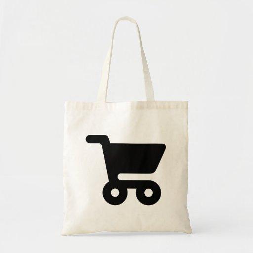 Carrinho de compras bolsa para compras