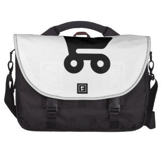 Carrinho de compras mochila para laptop