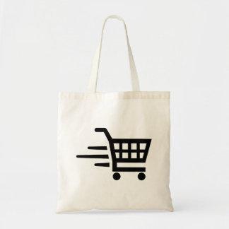 Carrinho de compras bolsa tote