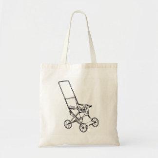 Carrinho de criança bolsa tote