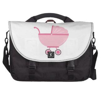 Carrinho de criança de bebê bolsas para computador portátil