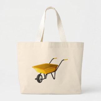 Carrinho de mão de roda sacola tote jumbo